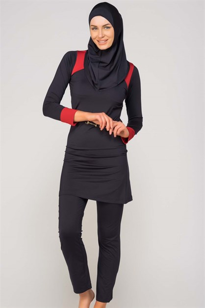 Alfasa 300 Long Covered  Islamic Burkini Swimsuit