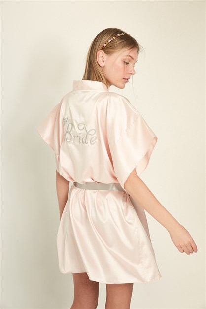 C&City 050 Women Bride Satin Nightgown