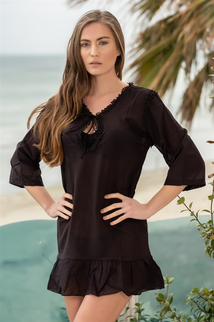 C&City 1923 V-Neck Tunic Beachwear