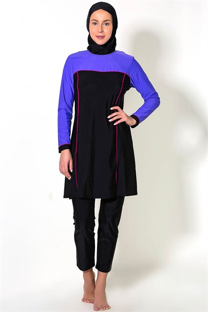 C&City 7289-1 Covered Islamic Burkini Swimsuit