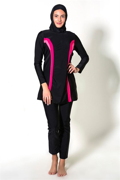 C&City 7293 Covered Islamic Burkini Swimsuit