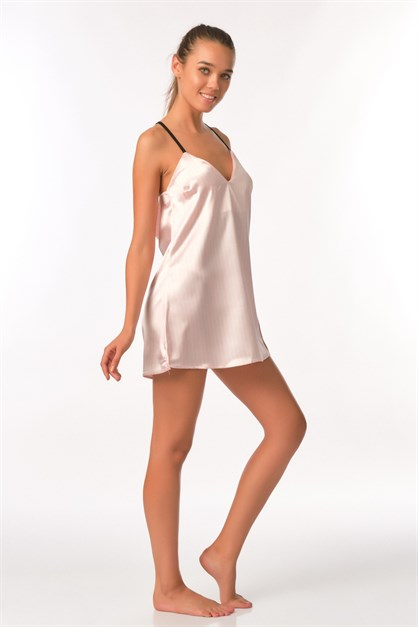 C&City Bride Women Satin Nightgown