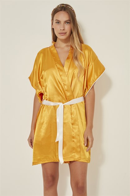 C&City Women Satin Nightgown Dressing Gown Set 2 Pack Elze Hagen