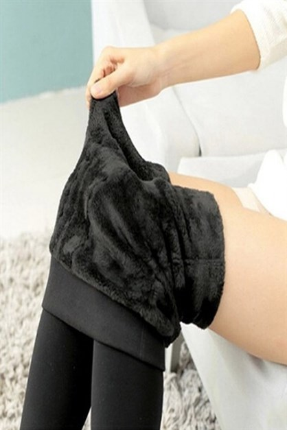 C&City Women Thermal Warm Velvet Legging Plush