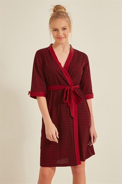 C&City Women Dressing Gown 0041662090