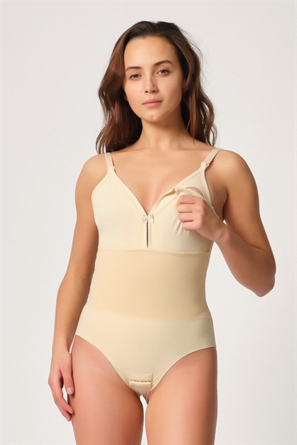 Emay 2944 Women Seamless Breastfeeding Singlet