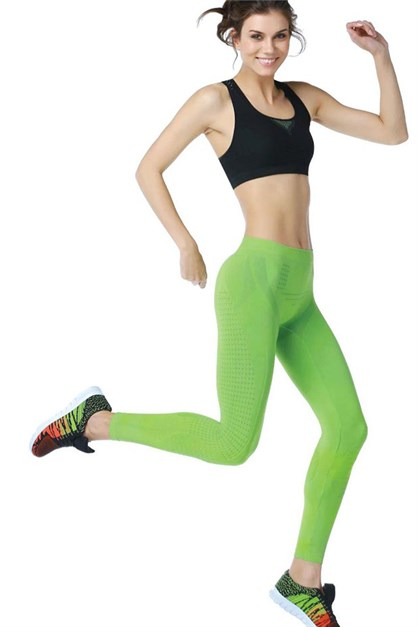 Emay 3814 Woman Fitness Bustier Tights Set
