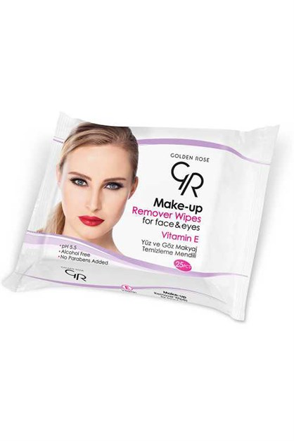 Golden Rose Make Up Wet Wipes Makyaj Men. Görsel